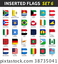 All flags of the world set 6 .  38735041
