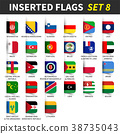 All flags of the world set 8 .  38735043