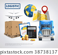 Logistic Colored Poster 38738137
