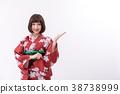 和服 理想的日本女人 日式服装 38738999