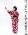 和服 理想的日本女人 日式服装 38739056