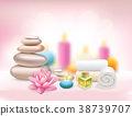 spa, therapy, towel 38739707