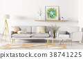 Interior of living room 3d rendering 38741225