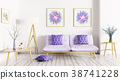 Interior of living room 3d rendering 38741228