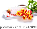 flowers and breakfast 38742899