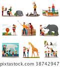 Zoo Visitors Set 38742947