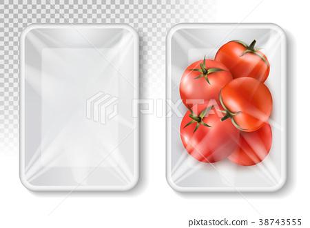 Polypropylene plastic packaging for vegetables 38743555