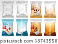 Polypropylene plastic packaging - instant porridge 38743558