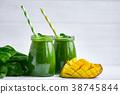 mango, green, juice 38745844