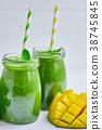 mango, green, smoothie 38745845