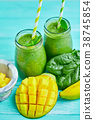 fruit, mango, green 38745854