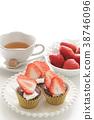 巧克力蛋糕 蛋糕 纸杯蛋糕 38746096