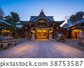 Kushida Shrine in Hakata, Fukuoka, Japan 38753587