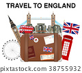 travel to England suitcase bag with england landma 38755932