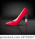 womens shoe with lipstick heel 38756067