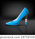 womens shoe with lipstick heel 38756508