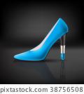 womens shoe with lipstick heel 38756508