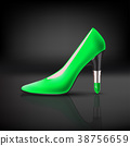 womens shoe with lipstick heel 38756659