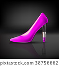 womens shoe with lipstick heel 38756662