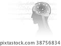 大腦 頭腦 圖形 38756834