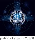 大腦 頭腦 電路 38756836