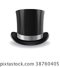 black gentleman hat 38760405