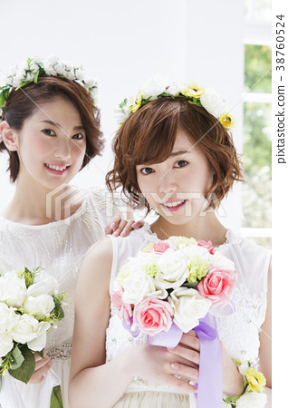 웨딩 신부 여성 결혼 38760524