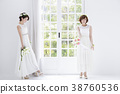 新娘 婚礼 女生 38760536