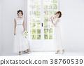 新娘 婚礼 女生 38760539
