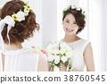웨딩 신부 여성 결혼 38760545
