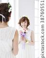 웨딩 신부 여성 결혼 38760551