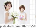 웨딩 신부 여성 결혼 38760559