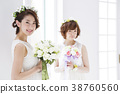 웨딩 신부 여성 결혼 38760560