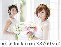 웨딩 신부 여성 결혼 38760562