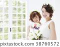웨딩 신부 여성 결혼 38760572