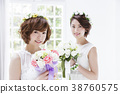 新娘 婚禮 一個年輕成年女性 38760575