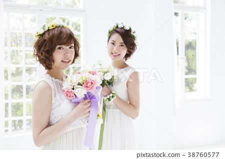 新娘 婚禮 女生 38760577