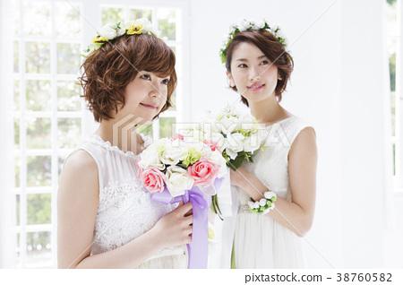 新娘 婚禮 成熟的女人 38760582