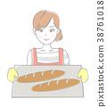 麵包 女生 女孩 38761018
