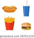fries, hot, beef 38761229
