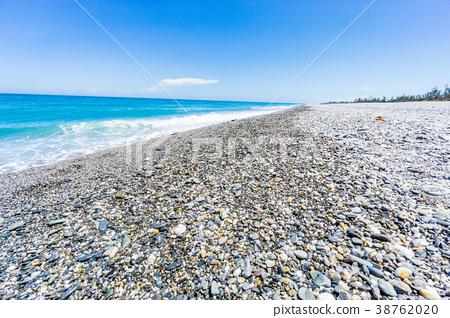 海滩 沙滩 波浪 38762020
