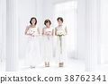 婚礼新娘妇女婚姻新娘 38762341