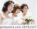 新娘 婚礼 女生 38762347