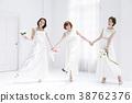 新娘 婚禮 一個年輕成年女性 38762376