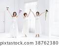 新娘 婚禮 一個年輕成年女性 38762380