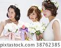 新娘 婚礼 女生 38762385
