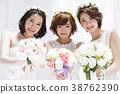 新娘 婚礼 女生 38762390