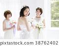 新娘 婚礼 女生 38762402