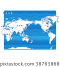 Sekai地圖白色背景(日語) 38763868