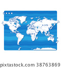 Sekai地圖白色背景(日語) 38763869